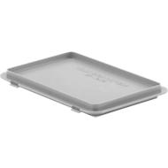 Deckel mit Haken EF-D 32 H für Kasten im EURO-Maß, grau