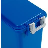 Deckelscharnier für Abfallbehälter