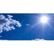 Deckensegel,Motiv Sonne,2000x1000