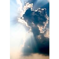Deckensegel, Wolken, 1200x800 mm
