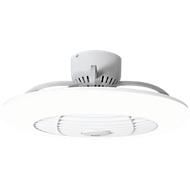 Deckenventilator mit LED-Licht Orbit, 3 Geschwindigkeiten, Fernbedienung, 75 W, B 550 x T 550 x H 245 mm