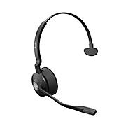 DECT headset Jabra Engage 65, bereik 150 m, tot 13 uur, geluidsfilter, busylight, verstelbare hoofdband, mono