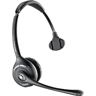 DECT-Headset Plantronics CS510, schnurlos/monaural, inkl. Telefonadapter APV-63, 120 m Reichweite