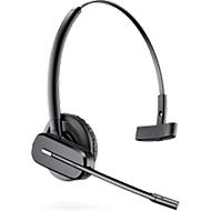 DECT-headset Plantronics CS540, snoerloos/monogeluid, incl. telefoonadapter APS-11, 120 m bereik
