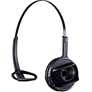 DECT-Headset Sennheiser D 10 Phone, schnurlos/monaural, mit Telefonadapter CEHS-AL01, 55 m Reichweite