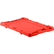 deksel voor Fix box 644, rood