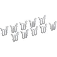 Dekselfixeerklemmen voor Euro-Fix-bakken, 10 stuks