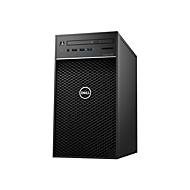 Dell Precision 3630 Tower - MT - Xeon E-2174G 3.8 GHz - 8 GB - 256 GB