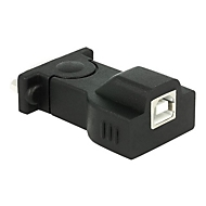 DeLOCK Adapter USB 2.0 > 1 x Serial - Serieller Adapter