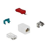 DeLOCK Secure Clip Starter Set - LAN-Kabel Sicherheitsschloss-Set
