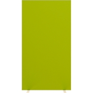Design-Trennwand, Stoffbespannung, B 940 mm, grün