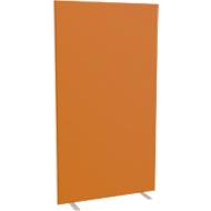 Design-Trennwand, Stoffbespannung, B 940 mm, orange