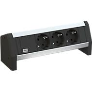 Desk 1, 3-fach, 3xCH Gerätezuleitung CH GST18 3,0m