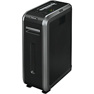 Destructeur de documents Fellowes® 125i, coupe de 5,8 mm, noir