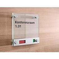 Deurbord van glas Toskana Vrij/Bezet