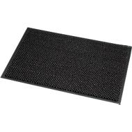 Deurmat microvezel, B 600 x L 900 mm, wasbaar op 30 graden, grijs