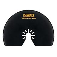 DEWALT Segmentsägeblatt Holz, 100 mm, für Multi-Tool