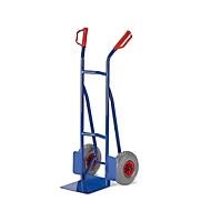 Diable, charge 250 kg, l. 530 x P 510 x H 1200 mm, roues en caoutchouc plein