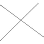 Diagonalkreuz für Grund- und Anbauregal, passend f. Regalbreite 1200 mm