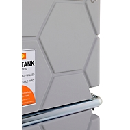 Dieseltank CEMO CUBE Indoor Basic, 1500 l Volumen, 230 V Elektropumpe, B 1200 x T 1150 x H 1740 mm