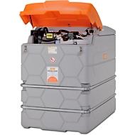 Dieseltank CEMO CUBE Outdoor Premium Plus, 1000 l Volumen, 230 V Elektropumpe, B 1200 x T 800 x H 1800 mm