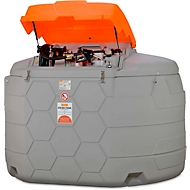 Dieseltank CEMO CUBE Outdoor Premium Plus, 5000 l Volumen, 230 V Elektropumpe, B 2400 x T 2300 x H 1850 mm