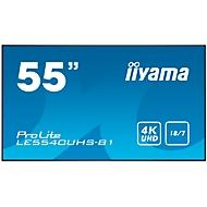 Digital Signage Display iiyama ProLite LE5540UHS-B1, 55 Zoll, 4K UHD, 3840 x 2160 Px, 2x HDMI, 2x USB, 18/7-Betrieb