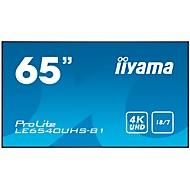 Digital Signage Display iiyama ProLite LE6540UHS-B1, 65 Zoll, 4K UHD, 3840 x 2160 Px, 4x HDMI, 4x USB, 18/7-Betrieb