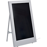 Digitale klantstop SMART Signage Display PH43F, LED, HDMI/DVI-I/DP1.2, 24/7 werking, wit aluminium