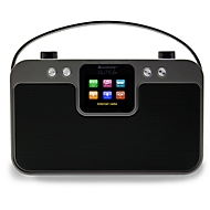 Digitalradio Soundmaster IR4400, Internet/DAB+/UKW/Bluetooth, Netzwerkplayer, USB/Netz/Batterie, tragbar
