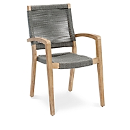Dining fauteuil Lagos, grandis hardhout, ademende netbespanning, B 560 x D 690 x H 920 mm