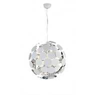 DISCALGO led pendellamp, E14 fitting, incl. 6 x 5 W led lampen, ophanghoogte tot 1500 mm