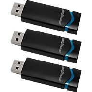 disk2go USB-Sticks QLIK, 3er-Pack, 8 GB