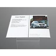 Display-Aufsatz, für Bodenaufsteller, Acryl, DIN A3 quer