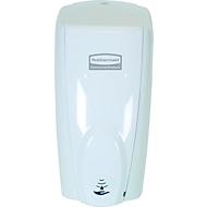 Distributeur automatique de savon et de désinfectant Rubbermaid AutoFoam, 1100 ml, sans contact, pour mur/support, blanc