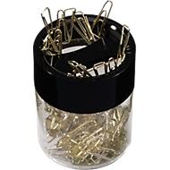 Distributeur de trombones, livré avec trombonnes en laiton