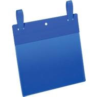 Documententassen met ophanglus, B 210 x H 148 mm (A5 liggend), 50 st., blauw
