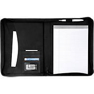 Dokumentenmappe Highline, DIN A4, schwarz