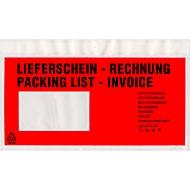 Dokumententaschen Premium, DIN lang, Lieferschein/Rechnung