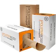 Doos met vulling voor verpakking, 290 m per rol, om max. 1000 pakketten te vullen