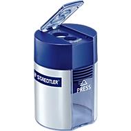 Doppelspitzdose Staedtler® 512, 2 Spitzlöcher, für normale und jumbo Stifte, Verschlussdeckel