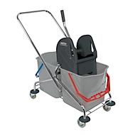 Double chariot avec armature en plastique