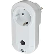 Draadloos stopcontact Brennenstuhl Brematic met energiemeting, smart home, bereik 100 m, app-aansturing