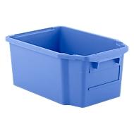 Draaistapelbak FB 600, 40 l, blauw