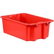 Draaistapelbak FB 601, 30 l, rood