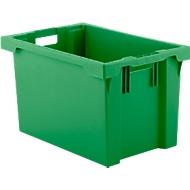 Draaistapelbak FB 604, 62 l, groen
