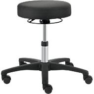 Drehhocker TEC basic IS 1999, höhenverst., ohne Armablage, ergonom. Polster-Sitz, schwarz