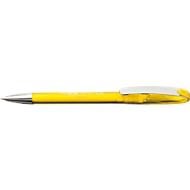 Drehkugelschreiber Boa, transp., gelb