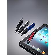 Drehkugelschreiber Bristol, mit Touch Pen, silber