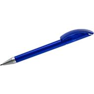 Drehkugelschreiber Twist, blau gefrostet